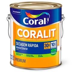 Tinta Esmalte Premium Acetinada Coralit Zero Branco 3,6 Litros