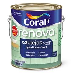 Tinta Esmalte Premium Acetinada Wandepoxy Branca 3,6 Litros - Coral