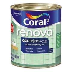 Tinta Esmalte Premium Acetinada Wandepoxy Branca 900ml - Coral