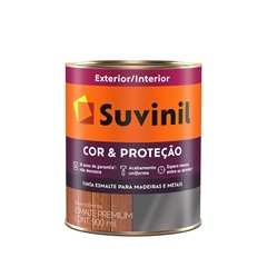 Tinta Esmalte Premium Brilhante Cor & Proteção Areia Clara 900ml - Suvinil