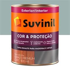 Tinta Esmalte Premium Brilhante Cor & Proteção Cinza Médio 900ml - Suvinil