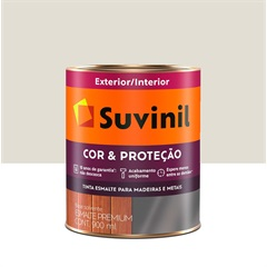 Tinta Esmalte Premium Brilhante Cor & Proteção Gelo 900ml - Suvinil