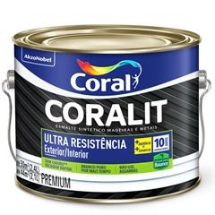 Tinta Esmalte Premium Brilhante Coralit Ultra Resistência Tabaco 2,4 Litros - Coral