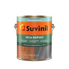 Tinta Esmalte Premium Brilhante Seca Rápido Branca 3,6 Litros - Suvinil