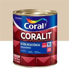 Tinta Esmalte Sintético Premium Acetinada Coralit Tradicional Areia 900ml - Coral