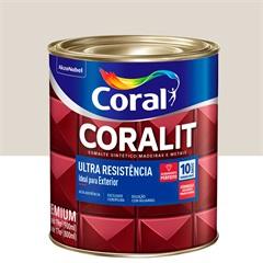 Tinta Esmalte Sintético Premium Acetinada Coralit Tradicional Gelo 900ml - Coral