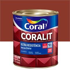Tinta Esmalte Sintético Premium Brilhante Coralit Tradicional Colorado 900ml - Coral