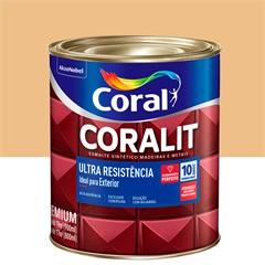 Tinta Esmalte Sintético Premium Brilhante Coralit Tradicional Creme 900ml - Coral