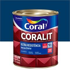 Tinta Esmalte Sintético Premium Brilhante Coralit Tradicional Del Rey 900ml - Coral