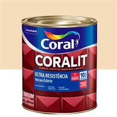 Tinta Esmalte Sintético Premium Brilhante Coralit Tradicional Marfim 900ml - Coral