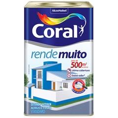 Tinta Fosco Rende Muito Laranja Imperial 18 Litros - Coral