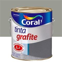 Tinta Grafite Claro 3,6 Litros - Coral