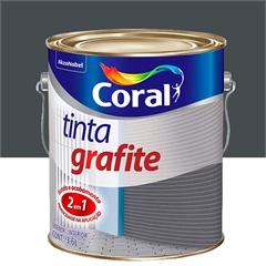 Tinta Grafite Escuro 3,6 Litros - Coral