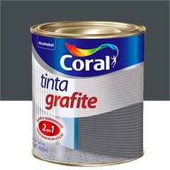 Tinta Grafite Escuro 900ml - Coral