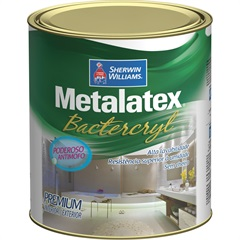 Tinta Metalatex Bactercryl Anti Mofo Branco 900ml - Sherwin Williams