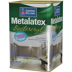 Tinta Metalatex Bactercryl Branca 18 Litros - Sherwin Williams
