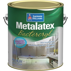 Tinta Metalatex Bactercryl Branca 3,6 Litros - Sherwin Williams