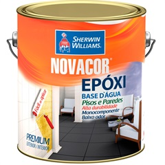 Tinta Novacor Epóxi Preto 3,6 Litros - Sherwin Williams