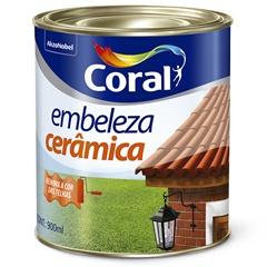 Tinta para Cerâmica Branca 900ml - Coral