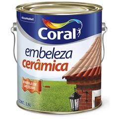 Tinta para Cerâmica Marrom 3,6 Litros - Coral