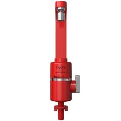 Torneira para Cozinha Mesa Bica Alta Slim 4t 110v Vermelha - Hydra