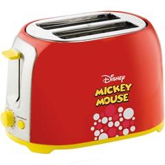 Torradeira 850w 110v Mickey Mouse Vermelha - Importado