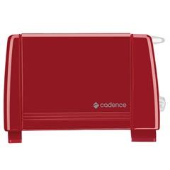 Torradeira Colors 750w 110v Vermelha - Cadence