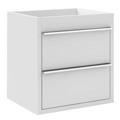 Toucador para Banheiro Top 50 52x50cm Branco - Bumi Móveis
