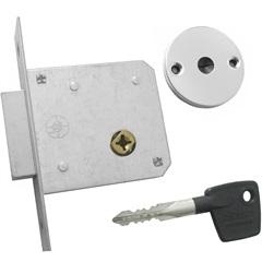 Trava de Segurança Tetra-Chave Simples em Inox Polido - Aliança