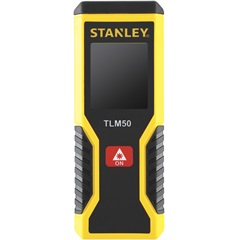 Trena Laser 15m Amarela E Preta - Stanley