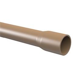 Tubo Soldável 40mm com 3 Metros Marrom - Tigre