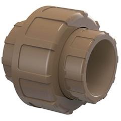 União Soldável 20mm Marrom - Tigre