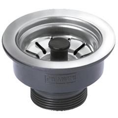 Válvula de Escoamento com Pino Standard 3.1/2'' Preta - Franke