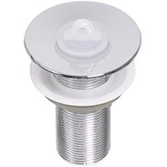 Válvula de Escoamento para Lavatório em Abs com Ladrão 2.3/8x1'' - GTRES