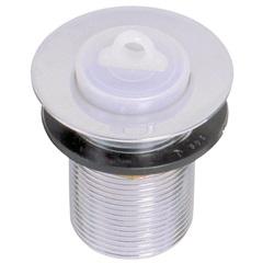 Válvula de Escoamento para Tanque 1.1/2'' com Tampa em Plástico Cromada - GTRES
