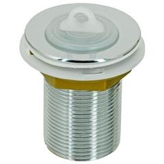 Válvula de Escoamento para Tanque 2.3/8 com Tampa em Plástico Cromada - GTRES