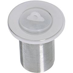 Válvula de Escoamento para Tanque com Tampa Plástica 2,3/8''X1,1/4'' Cromada - GTRES