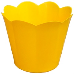 Vaso Cachepot Pequeno Amarelo - West Garden
