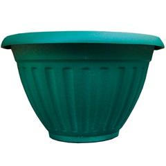 Vaso de Parede com Prato Denise 30cm Verde - West Garden