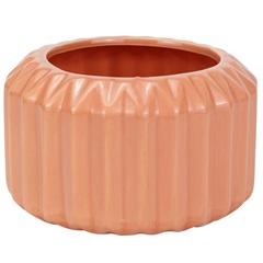 Vaso Decorativo em Cerâmica 13x8cm Rosa - Casanova