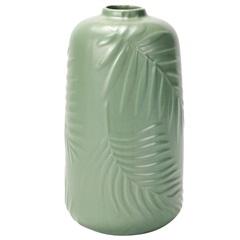 Vaso Decorativo em Dolomita 12x21cm Verde - Casanova