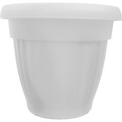 Vaso Denise 15cm Branco - West Garden
