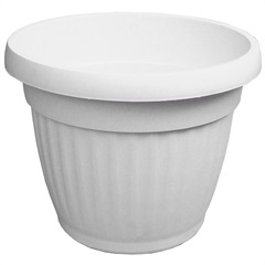 Vaso Denise 20cm Branco - West Garden