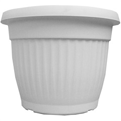Vaso Denise 25cm Branco - West Garden