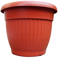 Vaso Denise 30cm Terracota - West Garden