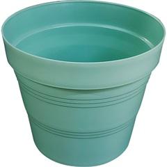 Vaso em Plástico Veneza 15x15 Cm Verde Pastel - West Garden