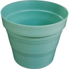 Vaso em Plástico Veneza 25x20 Cm Verde Pastel - West Garden