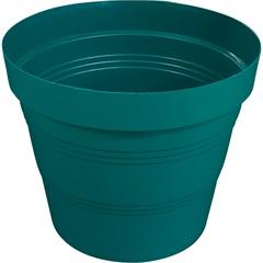 Vaso em Plástico Veneza 25x20 Cm Verde - West Garden