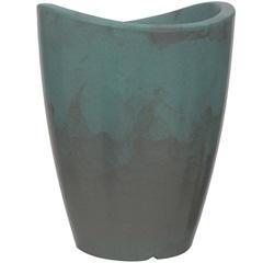 Vaso em Polietileno Cone Copacabana 25x32cm Couper - Vasart