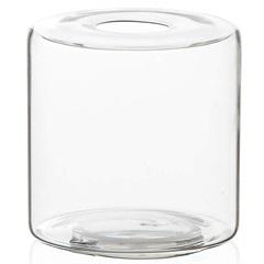 Vaso em Vidro Anhua Glass Transparente 11cm - Casa Etna